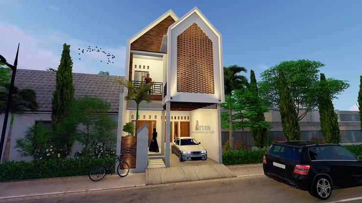 Rumah Jawaniki:   by Arsan Architect