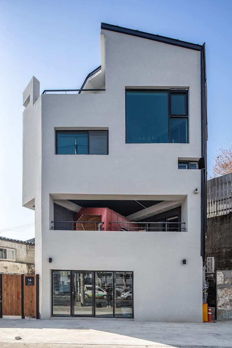 Nhà nhỏ theo inark [인아크 건축 설계 디자인], Tối giản