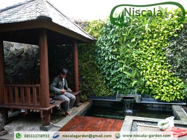 Tukang Taman Vertikal Malang:   by NISCALA GARDEN | Tukang Taman Surabaya