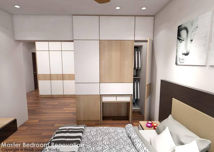 Spanish Village :  Bedroom by Swish Design Works