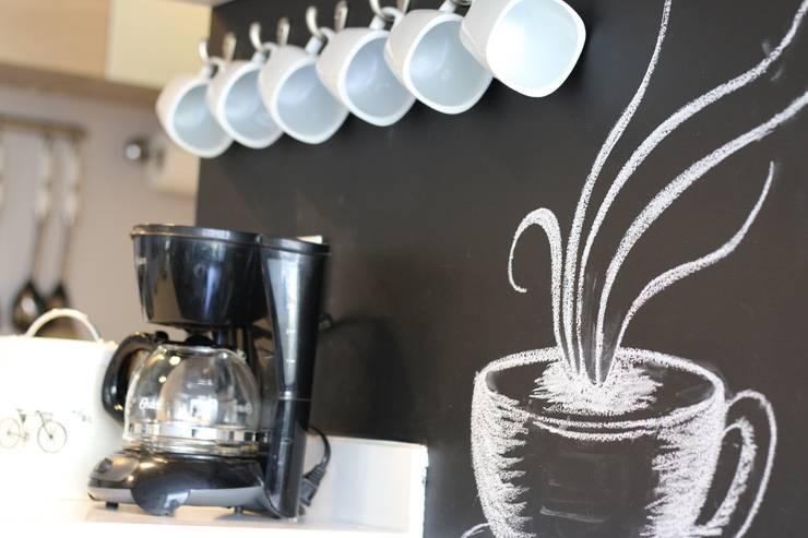 Estación de Café:  de estilo industrial por Pampeliska, Industrial