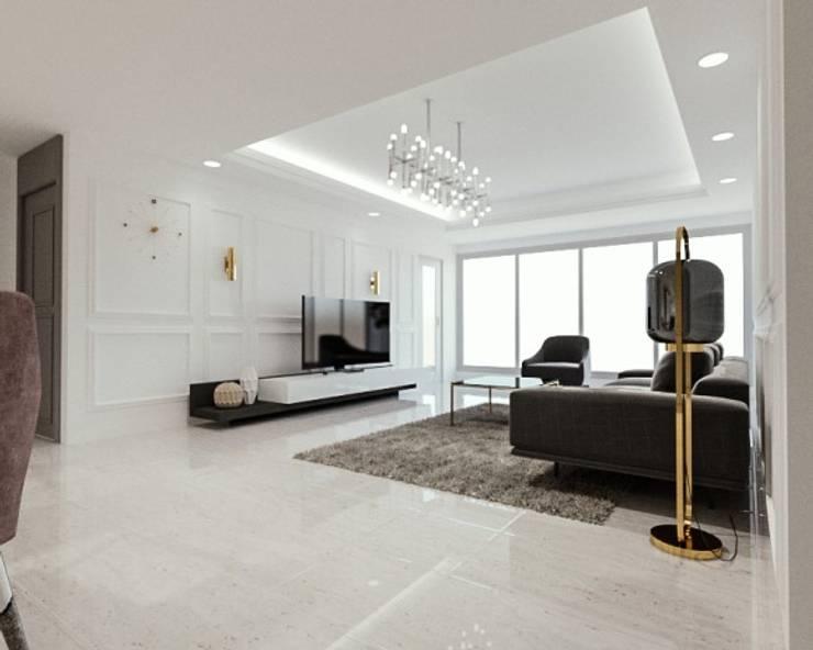 평창동 아파트 리모델링: 디자인 이업의  ,