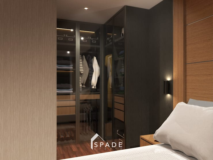 Lemari pakaian 1:  Bedroom by SPADE Studio Indonesia