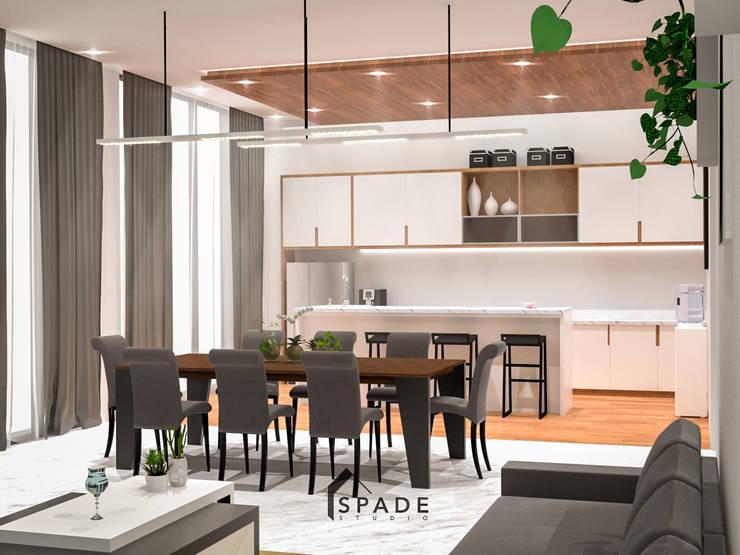 Dapur dan Meja makan:  Dapur by SPADE Studio Indonesia