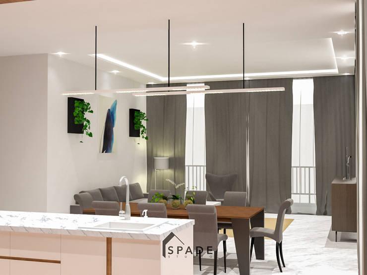 Residential House Bogor:  Dapur by SPADE Studio Indonesia
