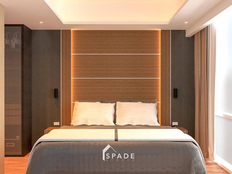 Kensington's Unit Apartment Kelapa Gading:  Kamar Tidur by SPADE Studio Indonesia
