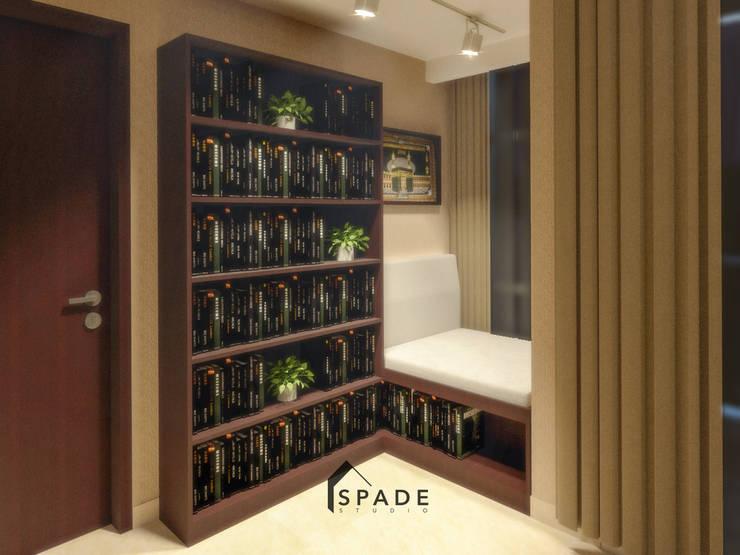 Kensington's Unit Apartment Kelapa Gading:  Study/office by SPADE Studio Indonesia