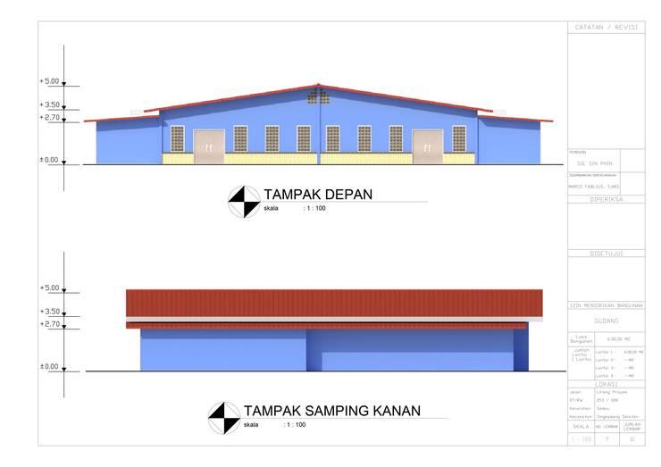 Warehouse & Office Kalimantan:   by SPADE Studio Indonesia