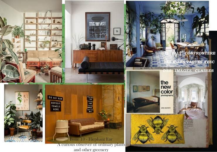 Moodboard: Livings de estilo  por Se Camper Design,