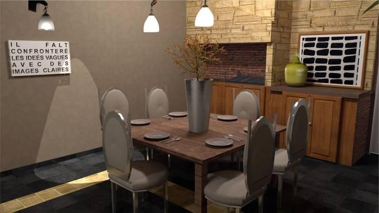 Render: Livings de estilo  por Se Camper Design,