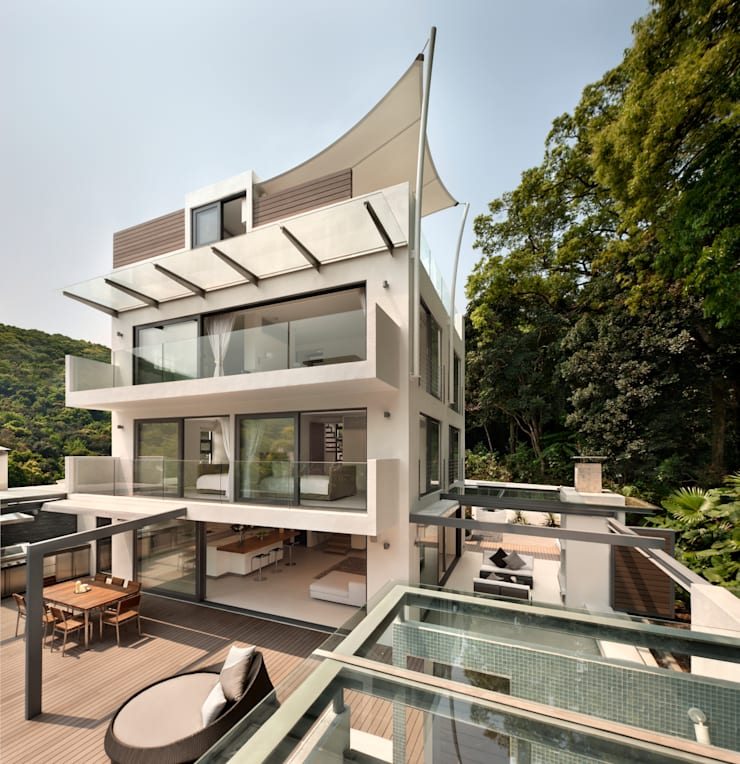Houses by Original Vision, Modern