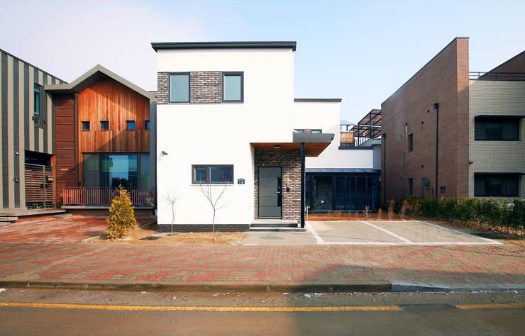 청한당: 소하  건축사사무소    SoHAA의  주택,