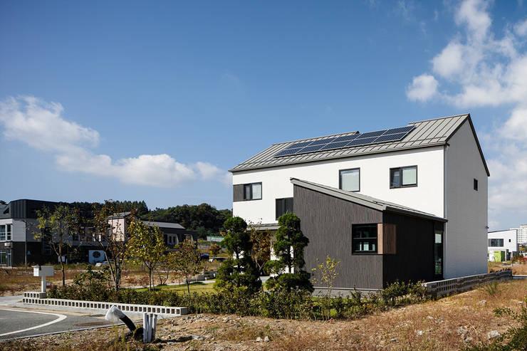소복소복하우스: 소하  건축사사무소    SoHAA의  주택,