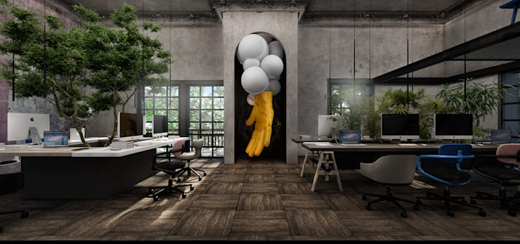 Offices & stores by STUDIO PARADIGM