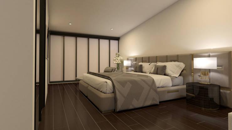 Anexo de casa:  de estilo  por Arq. Esteban Correa
