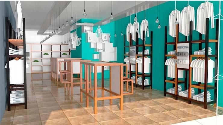 1870: Oficinas y locales comerciales de estilo  por Arq. Melisa Cavallo,