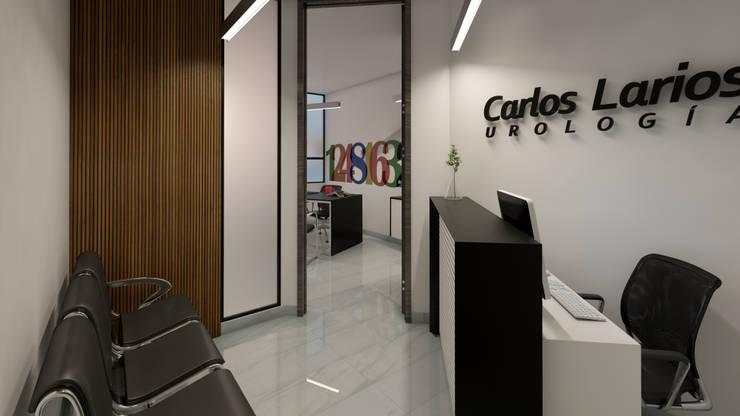 Consultorio de Urología:  de estilo  por Arq. Esteban Correa