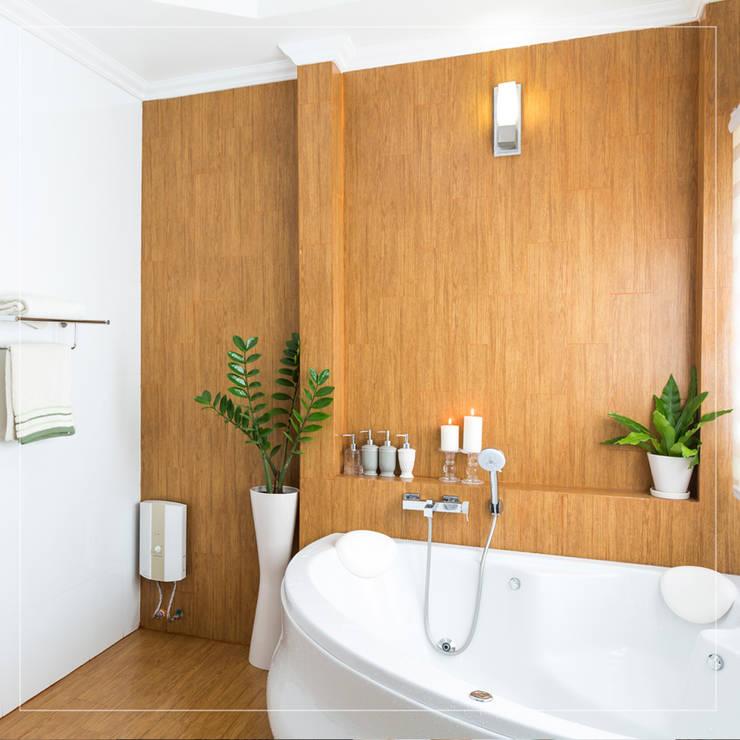 Diseñamos el baño de tus sueños: Baños de estilo  por Corporación Siprisma S.A.C