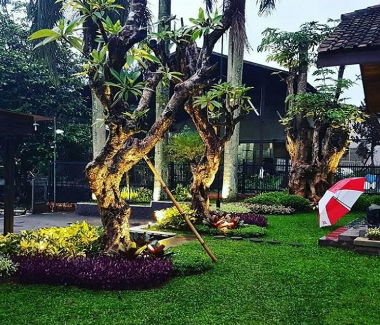 Spesialis Tukang Taman Surabaya: Halaman depan oleh Tukang Taman Surabaya - Tianggadha-art, Tropis Batu