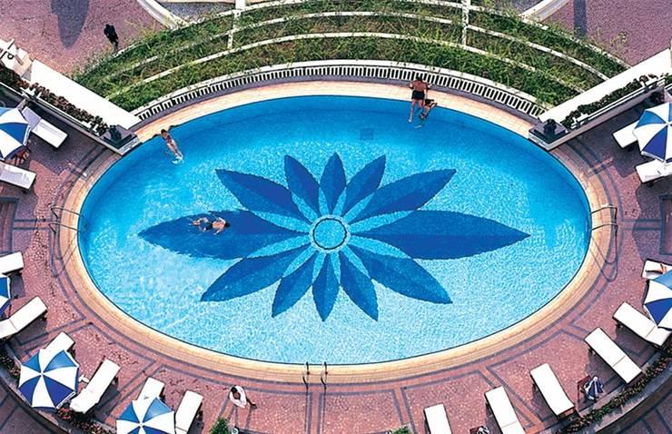 Những mẹo hay lựa chọn gạch bể bơi đẹp mà có thể bạn chưa biết:  Bể bơi by Công ty TNHH truyền thông nối việt