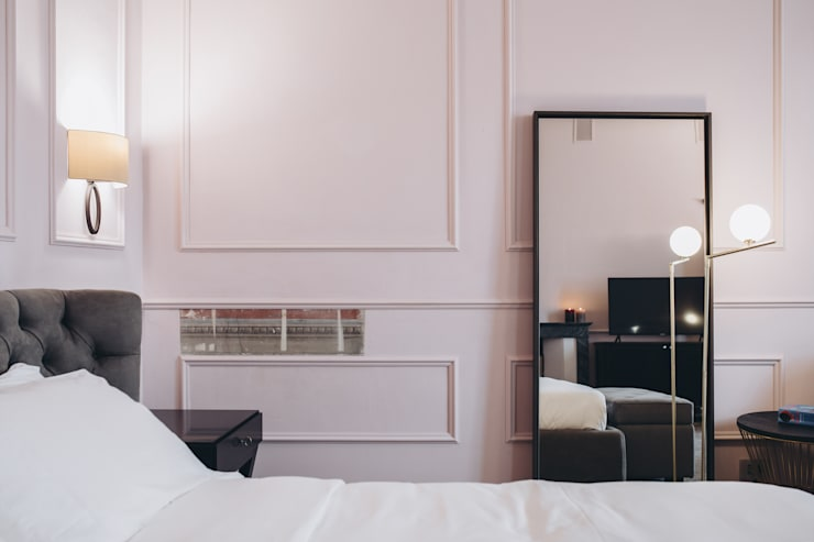 studio lenzi e associati의  침실