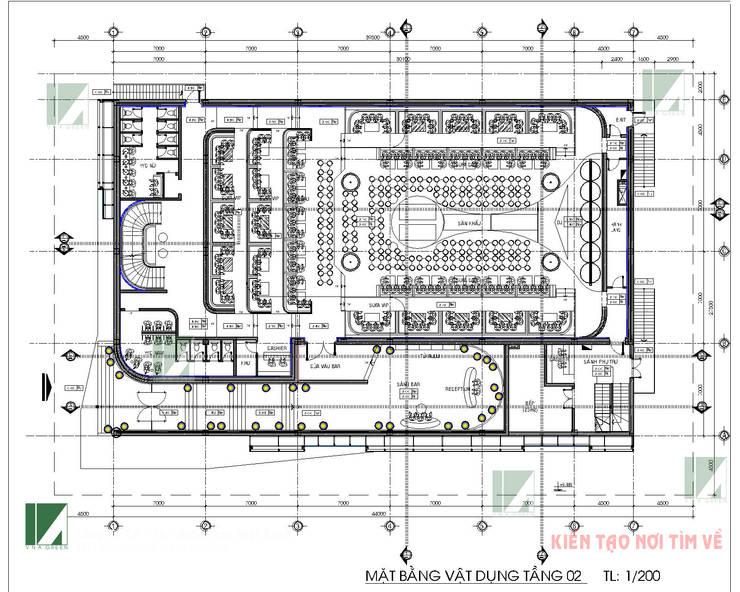 BAR  MUSIC – LÊ HỒNG PHONG – HẢI PHÒNG :   by công ty cổ phần Thiết kế Kiến trúc Việt Xanh