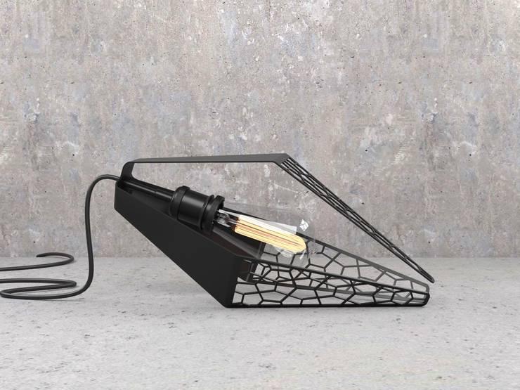 Lámpara Colgante Ceae: Dormitorios de estilo  por Cubeconcept.studio
