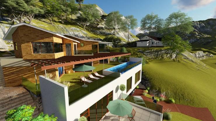 HOUSE MONTGOMERY:  Balcony by NDLOVU DESIGNS