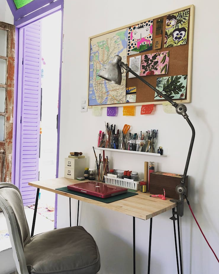 Refacción y Diseño de interiores: Livings de estilo  por Delgado+Pittaluga,