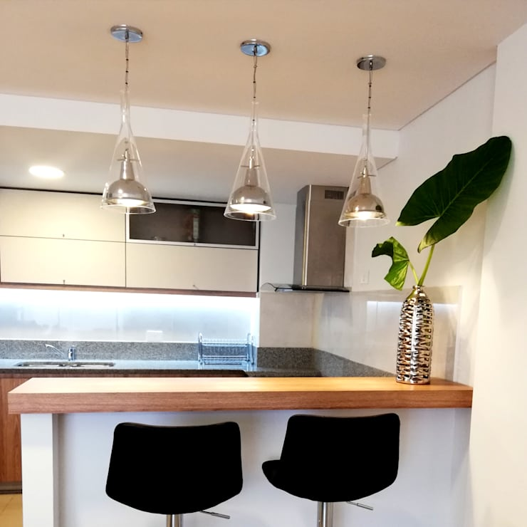 Proyecto Salta Tower: Cocinas de estilo  por Red Arquitectos,Moderno