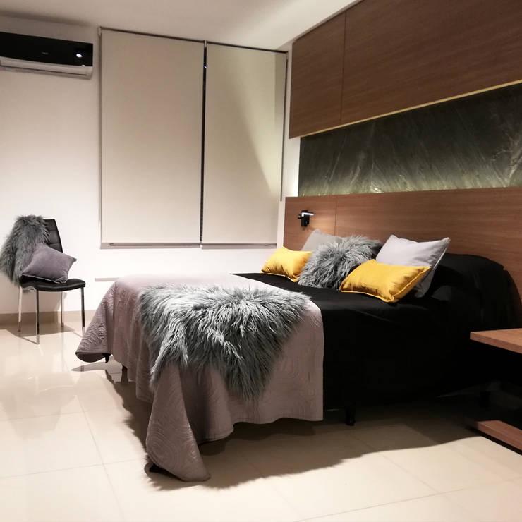 Proyecto Salta Tower: Dormitorios de estilo  por Red Arquitectos,Moderno