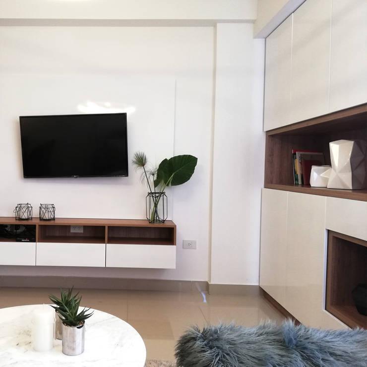 Proyecto Salta Tower: Livings de estilo  por Red Arquitectos,Moderno