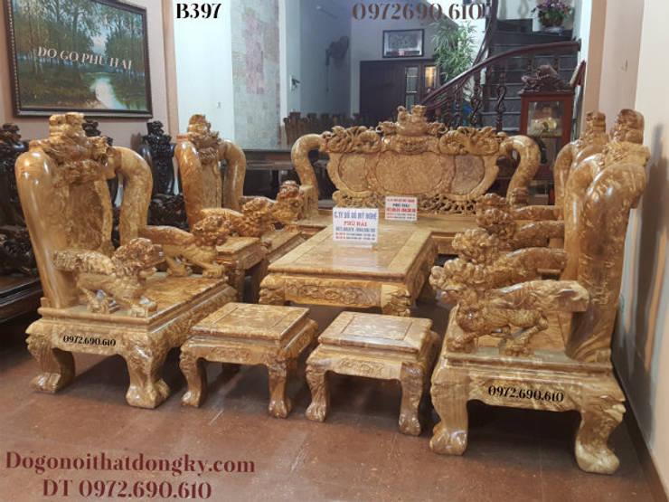 Bộ Bàn Ghế Gỗ Ngọc Nghiến :  Household by Do Go My Nghe Phu Hai