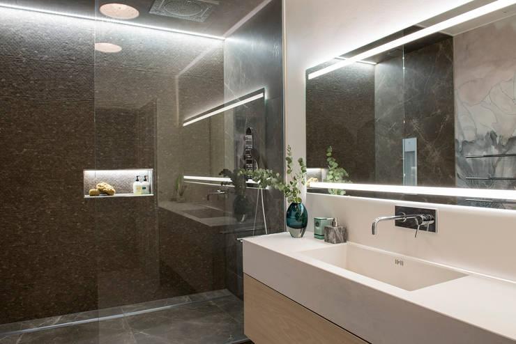 Arzu Kartal Interior Studio & Concepts의  욕실