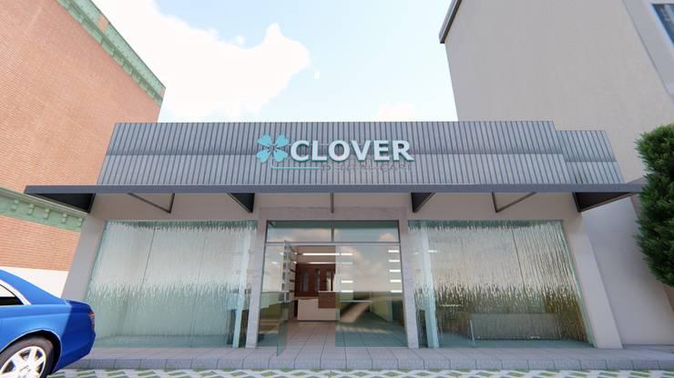 Clover dental care Palembang:  Klinik by GRAPHICA INDONESIA