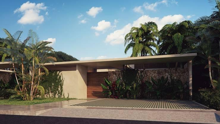 Houses by Construcciones del Carmen, Tropical