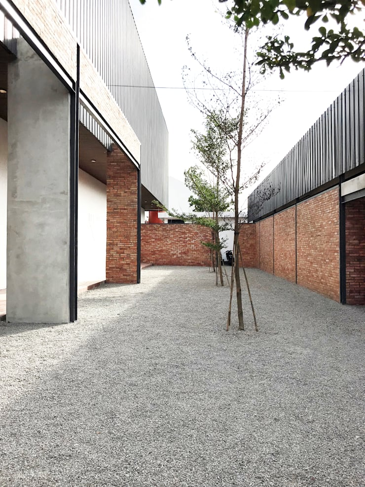 Exterior - After Courtyard Right Wing:  Pusat Eksibisi by PHL Architects
