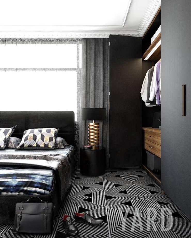 Bedroom:  ตกแต่งภายใน by studio yard
