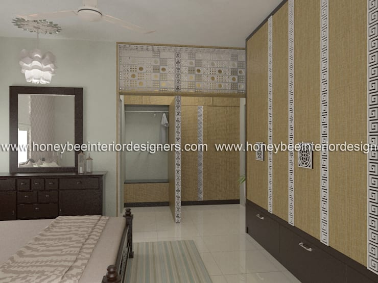 Bedroom by Honeybee Interior Designers