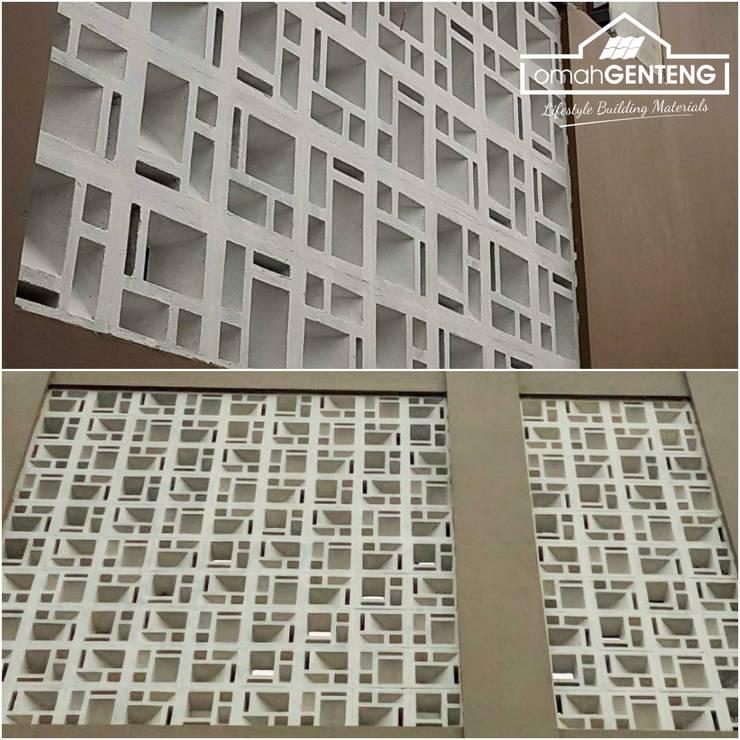 HP/WA: 08122833040 - Roster Beton Palembang - Omah Genteng: Ruang Komersial oleh Omah Genteng, Minimalis Beton