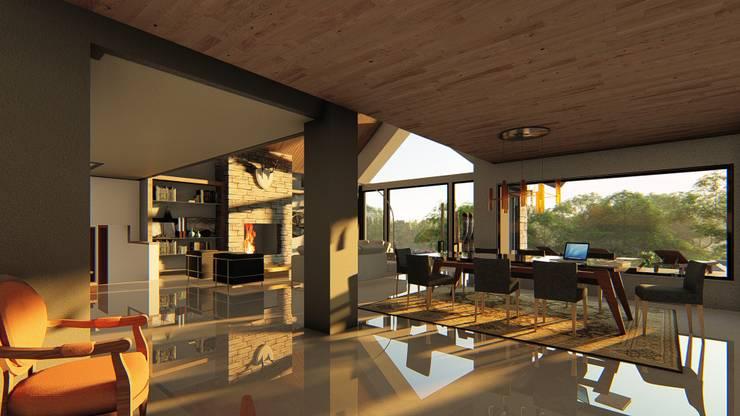 PUERTO VARAS:  de estilo  por Alvarez Arquitectura