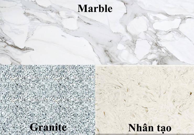 4. Cách phân biệt đá Marble tự nhiên với đá Nhân Tạo và đá Granite:  Artwork by Công ty TNHH truyền thông nối việt
