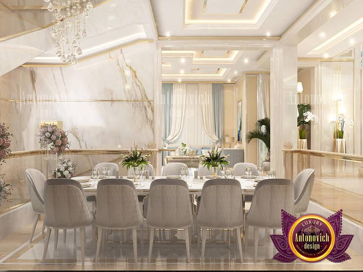 Incredible Elegant Dining Area:   by Luxury Antonovich Design