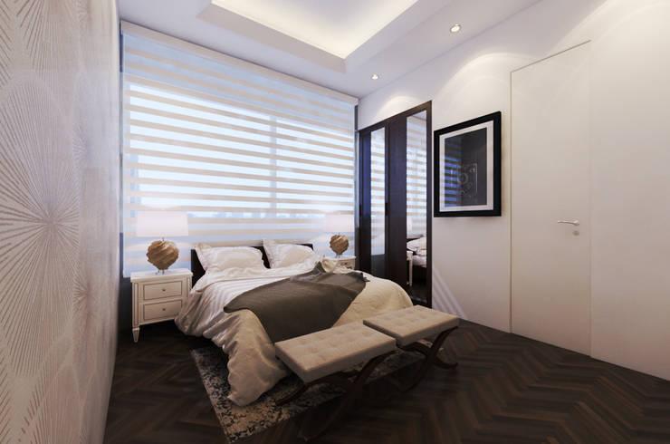 ALCOBA 2: Dormitorios de estilo  por M3DRANO