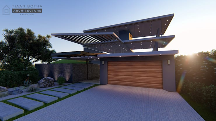 Street View:  Houses by Tiaan Botha Architecture & Associates
