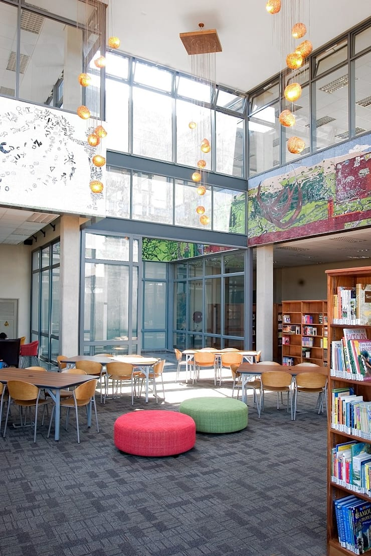 Interior Library:  Schools by Activate Space