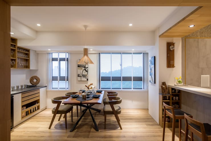 Kitchen oleh 解構室內設計