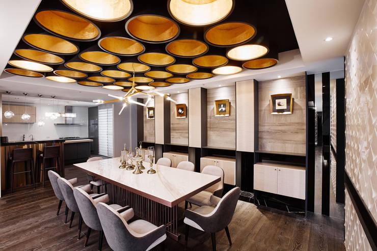 耘非凡:  餐廳 by 瑞嗎空間設計