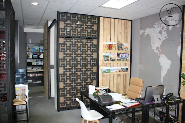 Commercial Spaces by Wood Lovers - Custom Designed Living