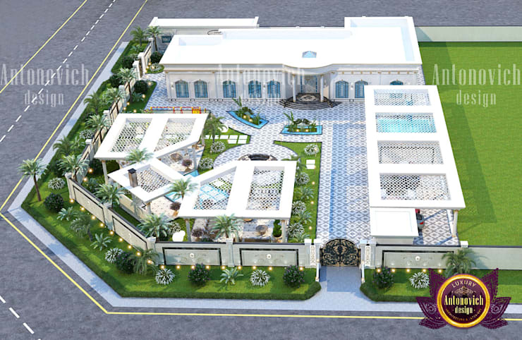 """Mansion Exterior Designed with Luxury: {:asian=>""""asian"""", :classic=>""""classic"""", :colonial=>""""colonial"""", :country=>""""country"""", :eclectic=>""""eclectic"""", :industrial=>""""industrial"""", :mediterranean=>""""mediterranean"""", :minimalist=>""""minimalist"""", :modern=>""""modern"""", :rustic=>""""rustic"""", :scandinavian=>""""scandinavian"""", :tropical=>""""tropical""""}  by Luxury Antonovich Design,"""